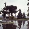 Dolma Bahçe Sarayı Bahçesi, İstanbul, 1972