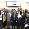 Fatih Projesi Eğitimleri Tamamlanan Canik İMKB Anadolu Lisesinde Belge Töreni Düzenlendi.