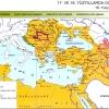 17. ve 18.yüzyıllarda Osmanlı Devleti Haritası