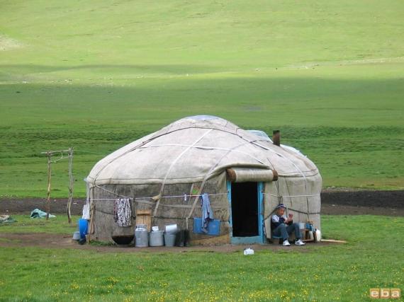 Kırgız Çadırı, (Boz-ev)
