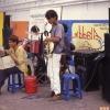 Görme Engelli Sokak Müzisyenleri, Bangkok,Tayland
