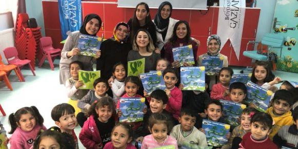 Çocuk eğitimci yazar Uzman Pedagog Özge Selçuk Bozkurt ile Okur-Yazar Buluşması