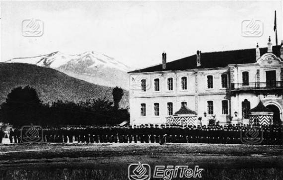 Atatürk, Manastır Askeri İdadisi