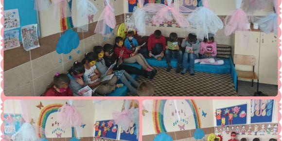 Derinkuyu 15 Temmuz Şehitleri İlkokulu 3/C Sınıfı Öğrencileri Her Yerde Okuyor