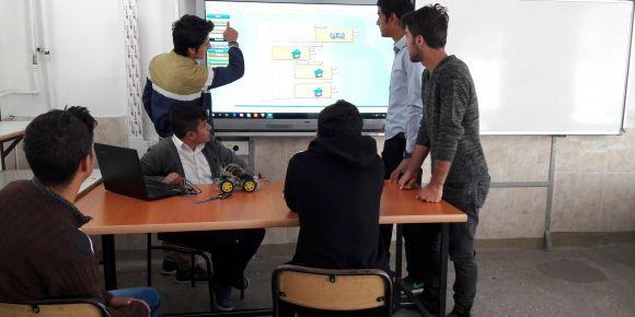 Kayseri Pınarbaşı Mesleki ve Teknik Anadolu Lisesi eTwinnig projesi gerçekleştirdi