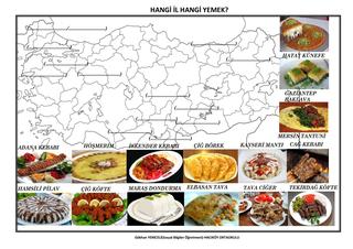 (Adım Adım Türkiye) Zengin Kültürümüz Yemekler Ve Oyunlar Etkinliği