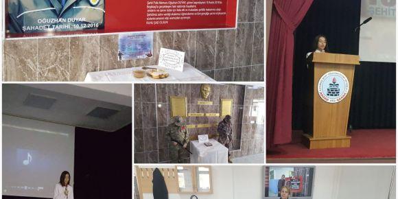 18 Mart Çanakkale Zaferi ve Şehitleri'ni bir şehit ailesi ile andık