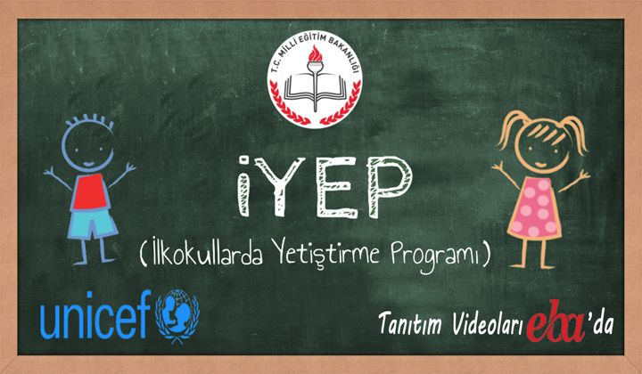 İYEP(İlkokullarda Yetiştirme Programı) Videoları EBA'da