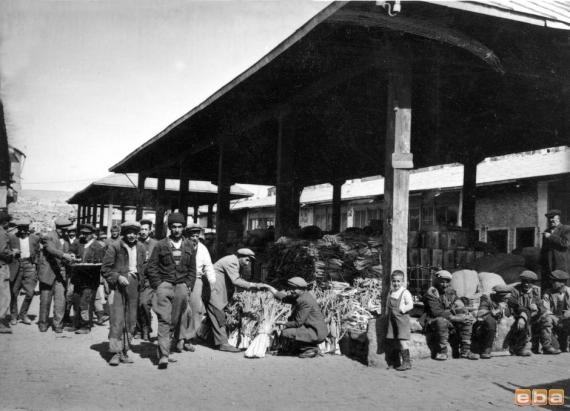 sebze hali, Erzurum, 1953