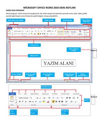 Microsoft Word Konu Anlatımı