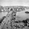 İstanbul, Galata Köprüsü, 1952