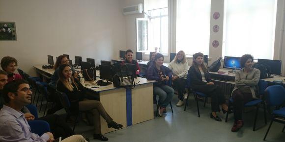 Ankara Çankaya Kavaklıdere Ortaokulu EBA tanıtım toplantısı