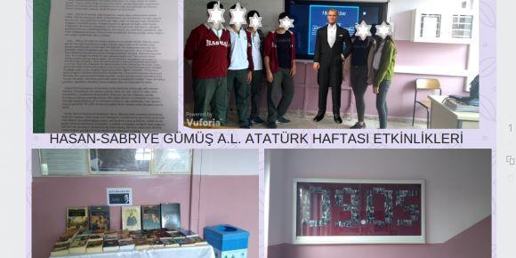 Atatürk haftası etkinlikleri