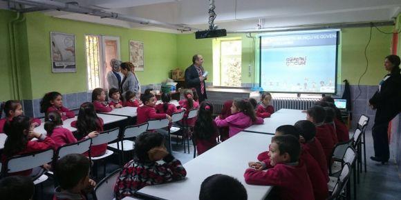 Yomra'da güvenli internet ve internette çocuk istismarını önleme eğitimleri yapıldı