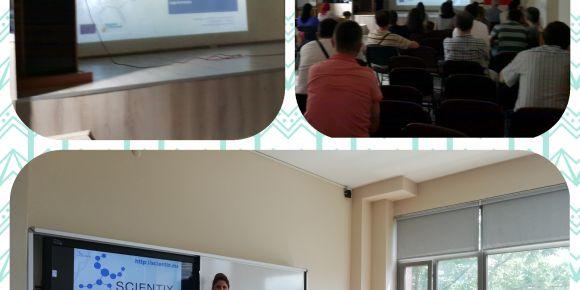 Bursa'da Scientix - STEM bilgilendirme sunumları
