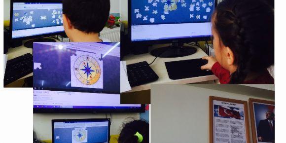 Sihirli Eller sınıfı her ay farklı bir web 2 aracıyla Tanışıyor