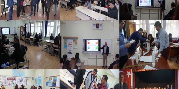 BEBKA ( T.C. Bursa Eskişehir Bilecik Kalkınma Ajansı ) projemizin STEM eğitimi tamamlandı