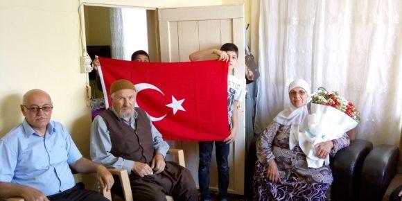 Şehit ailesi ziyareti