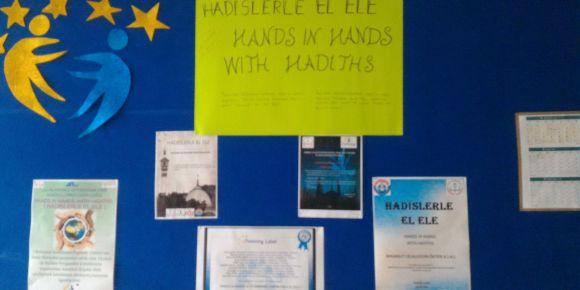 Hadislerle El Ele (Hands in Hands with Hadiths) eTwinning Projesi
