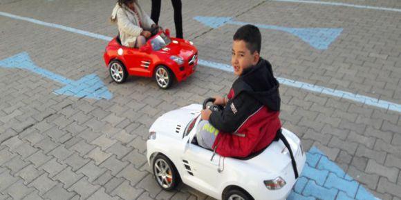 Anasınıfı öğrecilerine trafik eğitimi