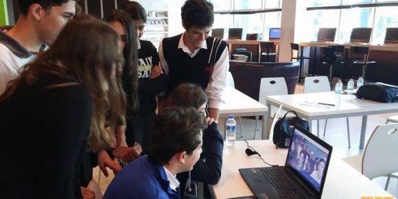 Necmi Asfuroğlu Anadolu Lisesi E-twinning Projesi ilk buluşması