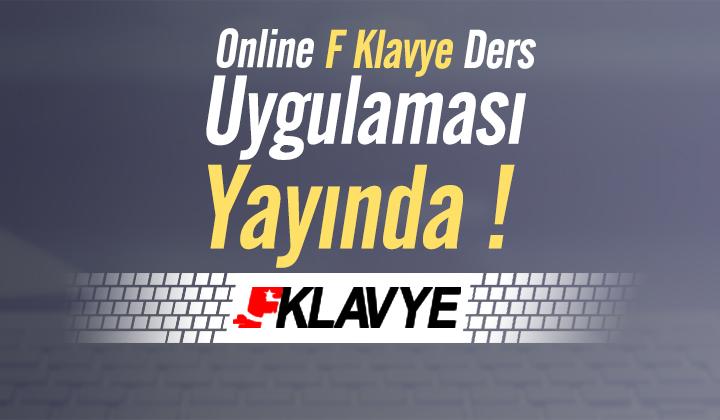 Online F Klavye Ders Uygulaması Yayında...