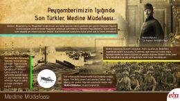 Birinci Dünya Savaşı sırasında Medine'yi, kutsal emanetleri İngiliz eline bırakmamak için canıyla, kanıyla mücadele etmiş,Mehmetçiğin ve onun şanlı kumandanı Fahreddin Paşa'nın Medine'yi müdafaasının infografik çalışması