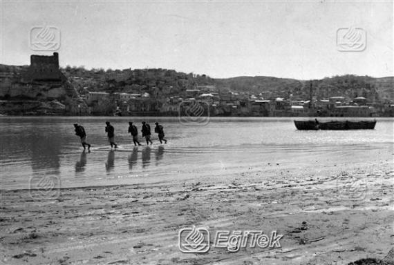 Urfa, Birecik, Fırat Nehri, 1954