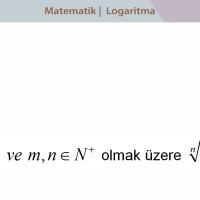 Logaritma - Üstel Fonksiyon ve Logaritma Fonksiyonu - 3