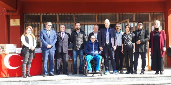 Atışalanı Anadolu Lisesi Türkiye Gaziler ve Şehit Aileleri Vakfını misafir etti