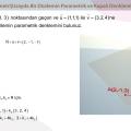 Uzayda Bir Düzlemin Parametrik ve Kapalı Denklemleri
