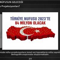 Türkiye'nin Nüfus Projeksiyonları