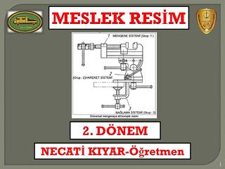 Meslek Resim Motor Bölümü 2. Dönem- Necati KIYAR