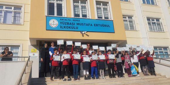 Yüzbaşı Mustafa Ertuğrul İlkokulu kodluyor