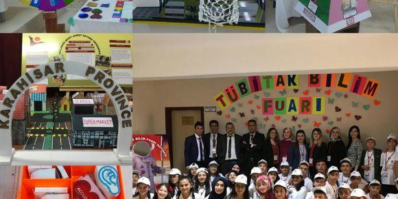 Yaylabağı Şehit Ahmet Öztürk Ortaokulu 4006 TÜBİTAK Bilim Fuarı