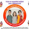 Değerler Eğitimi Projesi İyilik ve Hoşgörü Değeri Ayın Öğrencileri