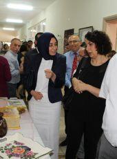 Nazilli Halk Eğitim Merkezi yıl sonu sergi, açılış ve belge töreni