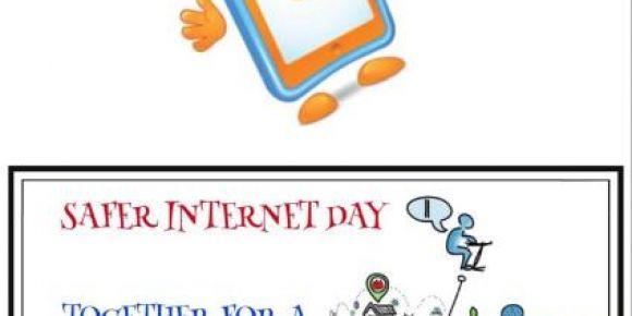 5 Şubat Güvenli İnternet Günü(SID) için düzenlenen afiş yarışmasında birinci olduk