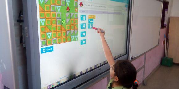 Duvarsız Sınıflar Farkında Yaşamlar eTwinning projesi etkinliği