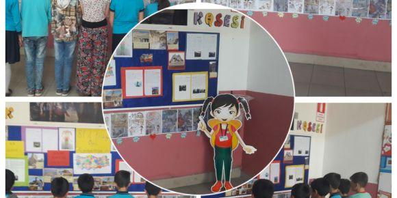 Afyonkarahisar/Salar Atatürk İlkokulu 4/A sınıfı sene sonu proje sergimizi yaptık
