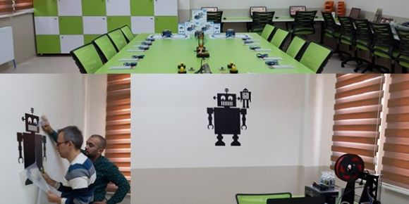 Robotik ve kodlama atölyesi
