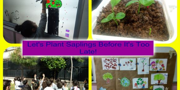 Let's Plant Saplings Before It's Too Late eTwinning projesi