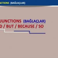 Conjunctions (Bağlaçlar)