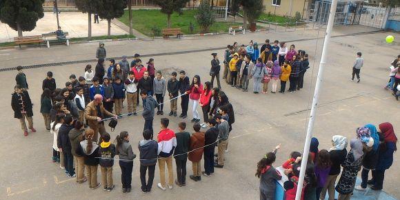 Okulumuzda Dünya Pi Günü etkinliği düzenledik