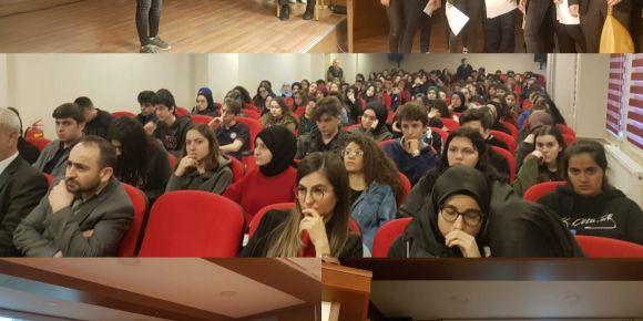Ünye Mehmet Refik Güven Fen Lisesinde Çanakkale Zaferi etkinliği