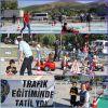 Miniklere tatilde de uygulamalı trafik eğitimi