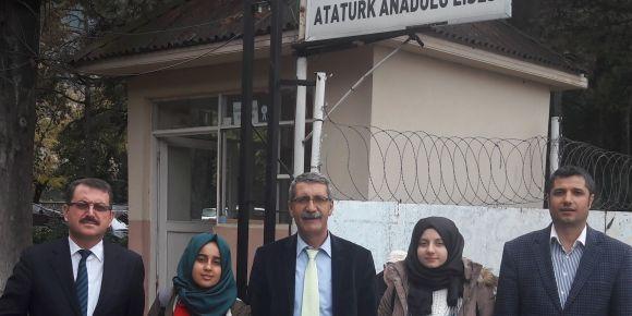 İnegöl Kırcalı MTAL kitap okuma Bursa finaline katıldı