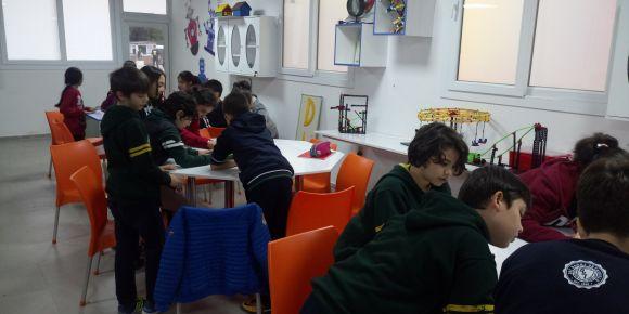 Okulumuzda robotik kodlama çalışmaları