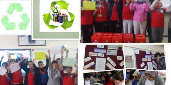Tuzla Evliya Çelebi Ortaokulu 6F Sınıfı  Atık Pil eTwinning Projesi