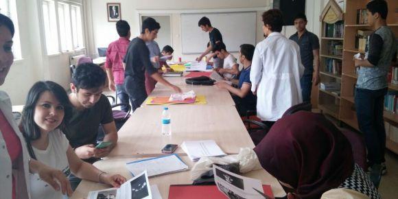 TÜBİTAK Bilim Fuarı Türk Dili Ve Edebiyatı dersi proje çalışmaları devam ediyor